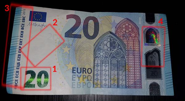 banconota 20 euro nuova