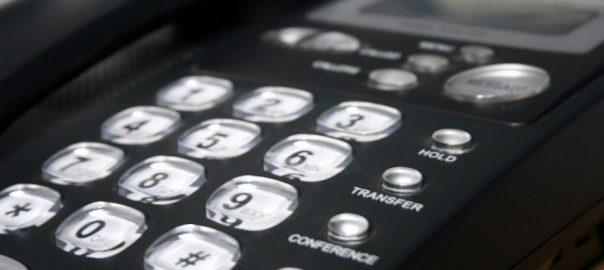 telefono in primo piano