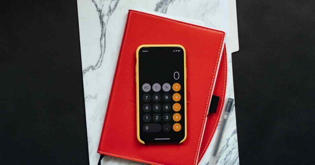 calcolatrice sopra agenda